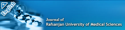 Journal of Rafsanjan University of Medical Sciences